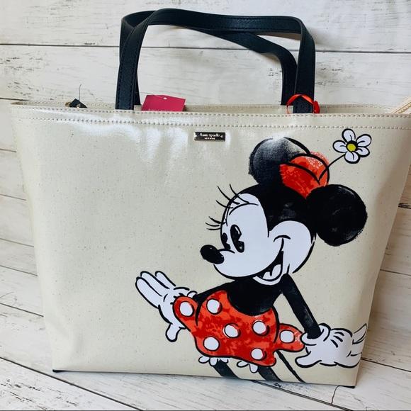 kate spade Handbags - Disney Minnie Mouse Kate spade Tote BRAND NEW